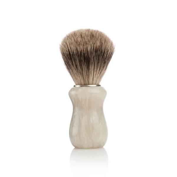 pennello da barba in avorio